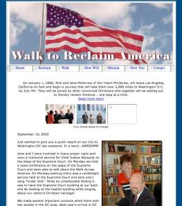 Walk to Reclaim America